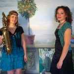 Sax Singer Female wedding duo